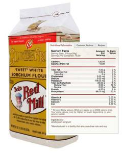 Bob's Red Mill Sorghum Flour