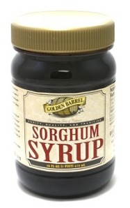 Jar of Golden Barrel Sorghum Syrup