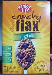 Perky's Crunchy Flax with Chia box front